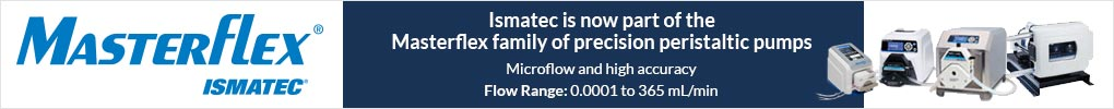 Ismatec is now part of the Masterflex Brand of precision peristaltic pumps