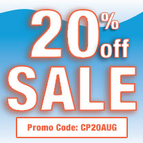 Save 20% On Your Next Order With Promotion Code: CP20AUG