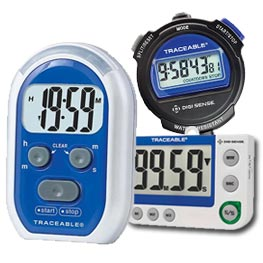 Traceable Laboratory Timers