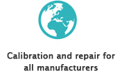 Calibration and repair for all manufacturers