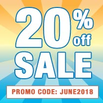 Save 20% On Your Next Order With Promotion Code: JUNE2018