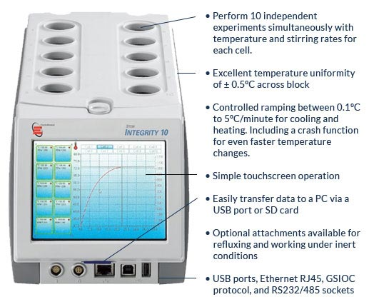 Integrity 10 has amazing time saving features to make your lab a happier place