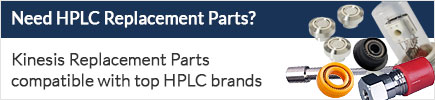 Kinesis HPLC replacement parts