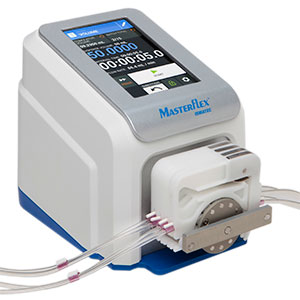 Ismatec compact multichannel ultra low flow rate peristaltic pump