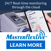 MasterflexLive Remote Pump Control and Monitoring