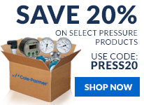 Save 20% off select pressure products with code: PRESS20