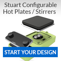 Configure your stirrer or hot plate to meet your needs