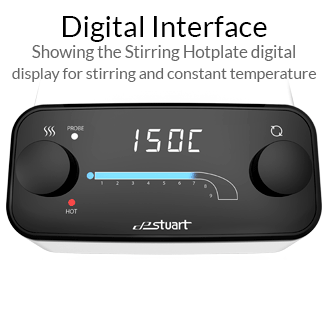 Stuart Digital Stirring Hotplate - Digital Interface