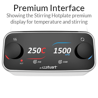 Stuart Stirring Hotplate - Premium Interface