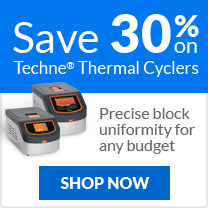 Save 30% on Techne Thermal Cyclers