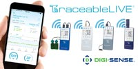 TraceableLIVE and Digi-Sense