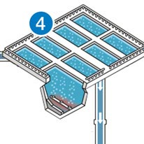 Wastewater Treatment Step 4 - Aeration