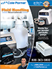 Your source for Masterflex® and Ismatec® peristaltic pumps, tubing, fittings, flowmeters, and more! Find a wide array of equipment and supplies for your fluid handling, process, research, lab, and electrochemistry needs. Request your FREE copy of this 112-page catalog.