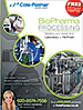 Optimize your biopharmaceutical research development, scale-up, and full production system needs—from the laboratory to fill/finish. Products featured for fluid transfer, fluid path, fermentation, filtration, process monitoring, testing and analysis, cleanroom, and lab. Request your FREE copy of this 128-page catalog.