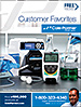 Don't miss a chance to flip through our Customer Favorites catalog filled with the products our customers rely on over and over again. Plus, get the scoop on our new and hot products and a sneak peek of what innovative products are coming soon! Request your free copy of this popular 192-page catalog before it's gone.