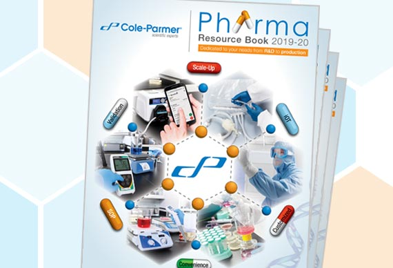 Cole-Parmer Pharma Resource Book 2019-20 Just Launched!
