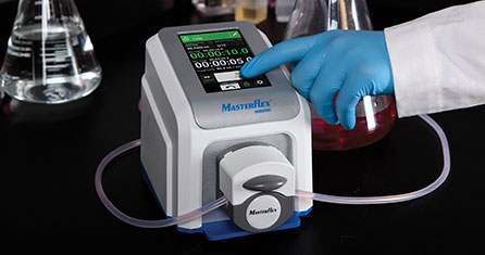 Ismatec Microflow High Accuracy ultra low flow peristaltic pumps