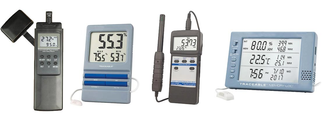 Digi-Sense Nist-Traceable Calibrated Thermohygrometer