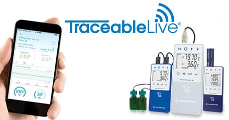 Stay Connected with TraceableLIVE and Digi-sense