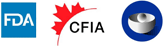 FDA, CFIA, WHO logo