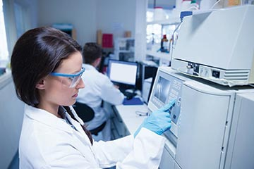 High Performance Liquid Chromatography (HPLC) in a Lab
